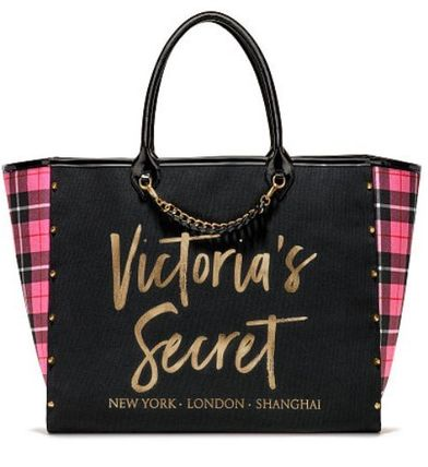 Victoria's Secret マザーズバッグ Victoria's Secret☆Angel City Tote トートバッグ 8色 国内発送(15)