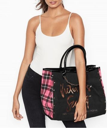 Victoria's Secret マザーズバッグ Victoria's Secret☆Angel City Tote トートバッグ 8色 国内発送(16)