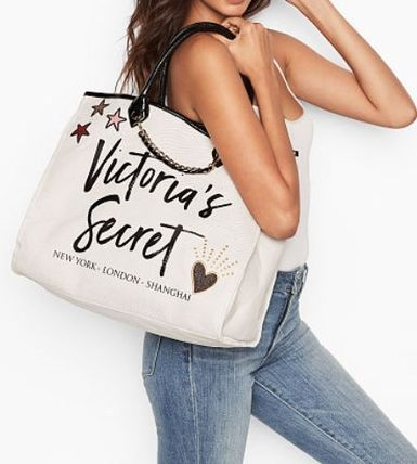 Victoria's Secret マザーズバッグ Victoria's Secret☆Angel City Tote トートバッグ 8色 国内発送(19)