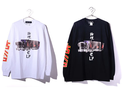 LONELY 論理/ロンリー DECO TORA ROAD L/S T-SHIRTS 長袖Tシャツ