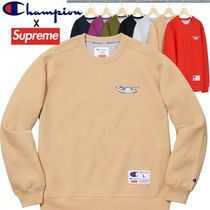 Supreme Champion 3D Metallic Crewneck AW 18 WEEK 10