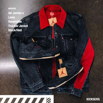 人気コラボ!Air Jordan x Levi's Reversible Jacket Black/Red