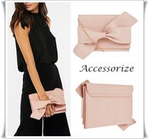 Accessorize 2way リボン クラッチバッグ ピンク 日本未入荷