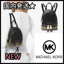 新作SALE!! 関送込み Michael Kors Rhea Mini Leather Backpack