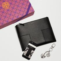 Tory Burch★BLOCK-T TRAVEL MEDIUM POUCH★ 人気のポーチ