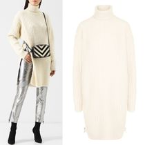 18-19AW G349 OVERSIZED TURTLENECK SWEATER WITH ZIP DETAIL