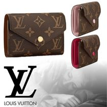 18AW LOUIS VUITTON PORTEFEUILLE VICTORINE モノグラム 3色
