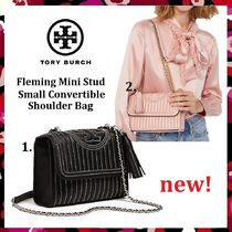 Tory Burch Fleming Mini Stud Small Counvertible Shoulder(小)