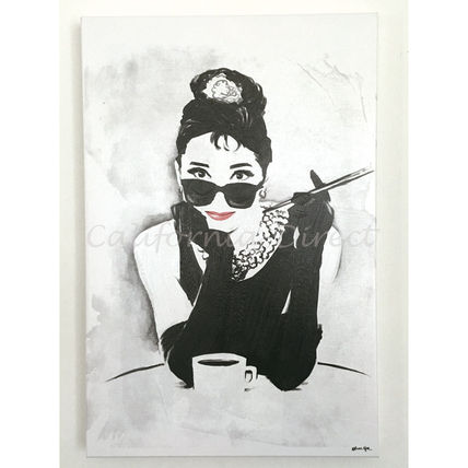 Oliver Gal 大きめ 51x76cm The Look Of A Ladyキャンバスアート