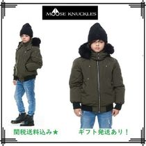 MOOSE KNUCKLES(ムースナックルズ) キッズアウター 18-19AW【MOOSE KNUCKLES】ボーイズボンバー/アーミー★関送込