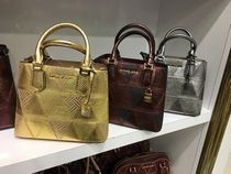 【Michael Kors】新作☆パッチワーク風ADELE MD MESSENGER 2way