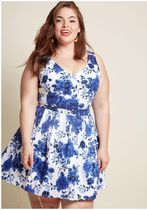 bookmaking brunch dress in roses