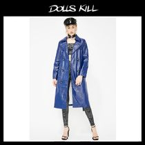 関税/送料込 *DOLLS KILL*ROYAL MORPHEUS VINYL COAT