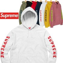 Supreme Gradient Sleeve Hooded Sweatshirt AW 18 WEEK 12
