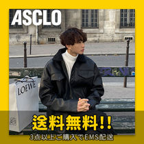 ASCLO(エジュクロ) ブルゾン ★ASCLO★ Volume Leather Mustang Jacket