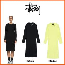 最新作!!18-19AW!!☆STUSSY☆TEMPLE L/SL RIB DRESS
