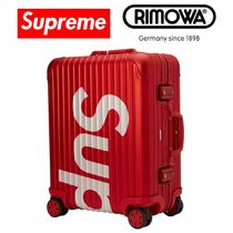 即発!Supreme / RIMOWA Topas Multiwheel 45L Red スーツケース