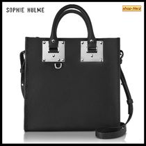 ★SOPHIE HULME★ Square Albion 2wayレザートートバッグ 関税込