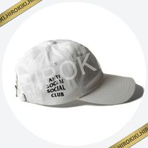 Anti Social Social Club WEIRD CAP ワイヤードキャップ ASSC 白