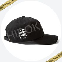 Anti Social Social Club WEIRD CAP ワイヤードキャップ ASSC 黒
