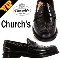 ◆◆VIP◆◆ Church's  mocassin pembrey black メタルスタッズ