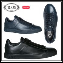 TOD'S(トッズ) スニーカー 大人気★送料関税込★TOD'S leather trainers sneakers★大特価