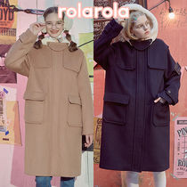 ★rolarola★ SOLID DUFFLE COAT_CT-18706