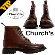 ◆◆VIP◆◆ Church's  Boot mcfarlane 2 Brown カーフスキン