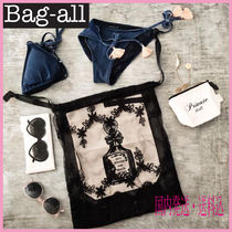 NY発!!SNSで話題 【Bag all】BLACK LACE BAG