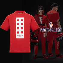 MONCLER(モンクレール) 8 MONCLER PALM ANGELS T-SHIRT Rouge