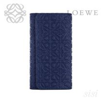 LOEWE★ロエベ 6 Keys Keyring Navy Blue