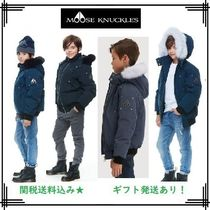 MOOSE KNUCKLES(ムースナックルズ) キッズアウター 18-19AW【MOOSE KNUCKLES】ボーイズボンバー★関送込