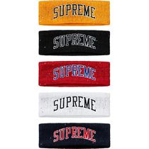 Supreme New Era Sequin Arc Logo Headband ヘッドバンド 18 FW