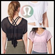 [lululemon]♥着こなし自在♪Ahead By Miles Short Sleeve