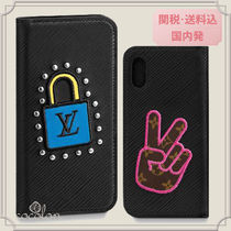 国内発[Louis Vuitton]IPHONE X & XS フォリオ