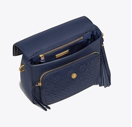 Tory Burch ショルダーバッグ・ポシェット 【 Tory Burch 】 FLEMING SATCHEL ROYAL NAVY(3)