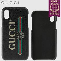 【正規品保証】GUCCI★19春夏★GUCCI PRINT IPHONE X/XS CASE