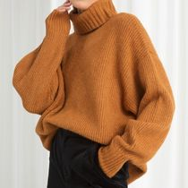 & Other Stories - Oversized Turtleneck Sweater