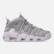 FW18 NIKE AIR MORE UPTEMPO WOMEN'S METALLIC SILVER 送料無料