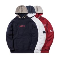 KITH NYC(キスニューヨークシティ) パーカー・フーディ 【KITH X BERGDORF GOODMAN】 INTERLOCK WILLIAMS Ⅱ HOODIE