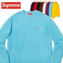 Supreme Polartec Small Box Crewneck Sweatshirt AW 18 WEEK 13