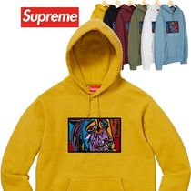 Supreme Chainstitch Hooded Sweatshirt AW 18 WEEK 12