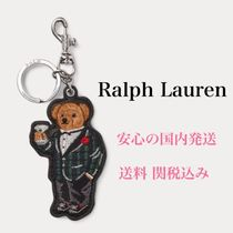 *国内発送* ポロベア Ralph Lauren Polo Bear Leather Key Fob