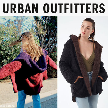 Urban Outfitters☆リバーシブル☆モコモコ ボアコート☆選択2色