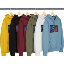 13 WEEK Supreme FW 18 Chainstitch Hooded Sweatshirt