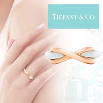 Or rose&Argent《 Tiffany&Co 》Infinity シンプル ループリング