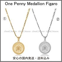 【Chained&Able】One Penny Medallion Figaroネックレス(2色)