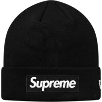 Supreme New Era Box Logo Beanie 18 AW  WEEK 12 BLACK
