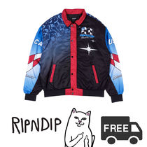 RIPNDIP リップンディップ Nascar Nerm Puffy Racing Jacket