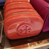 2018AW♪ Tory Burch★ STACKED PATENT SMALL COSMETIC CASE